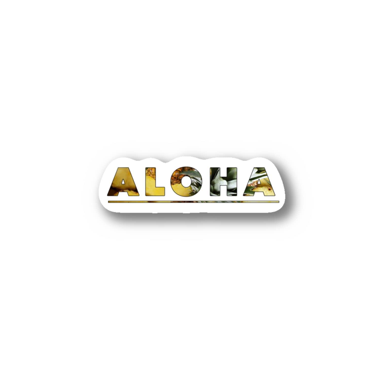 MonokomonoのAloha+Pineapple Stickers