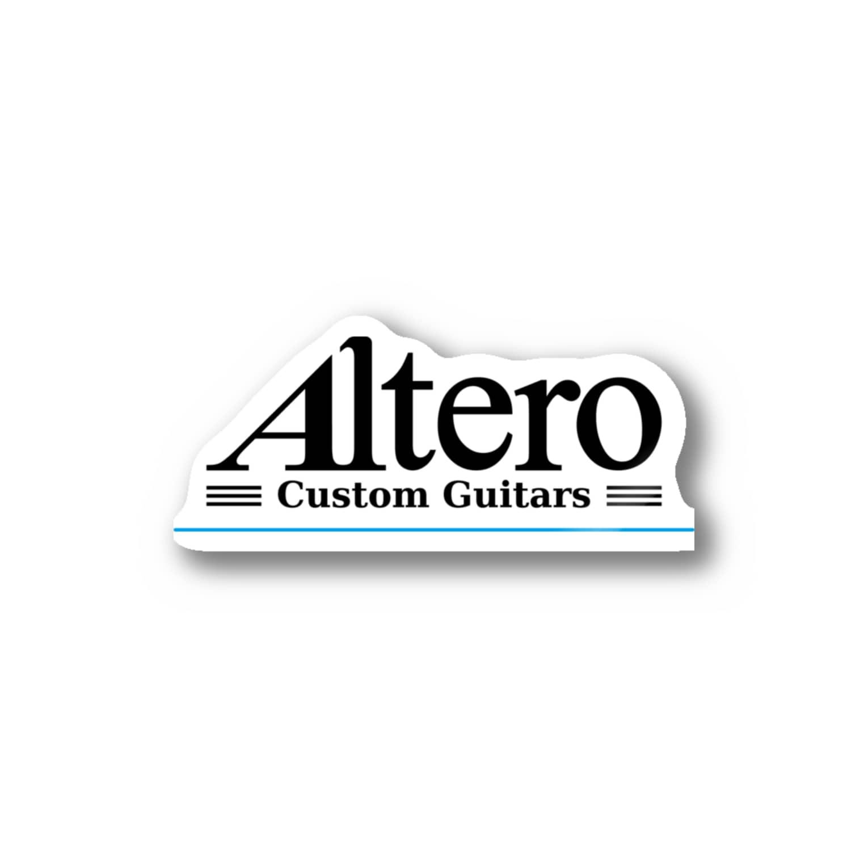 Altero_Custom_GuitarsのAltero Custom Guitars02(淡色向け) Stickers