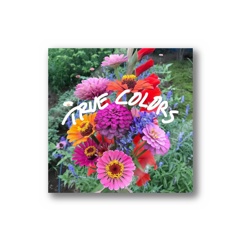 moca partyのflower  Stickers