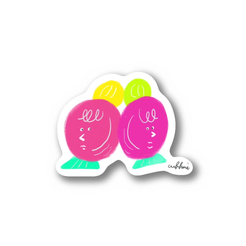 いすやますみえの永遠のライバル Stickers