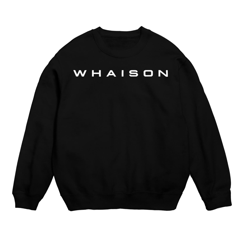 whaisonのwhaison(Plateia Bold_ttf) スウェット