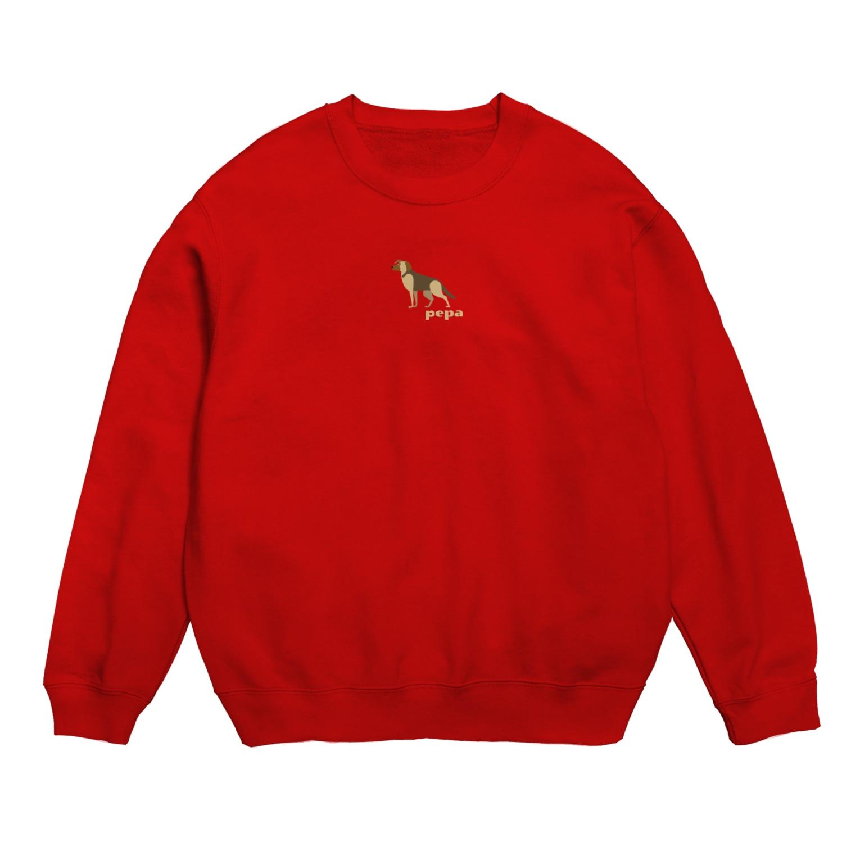 edamametoichiのpepa 2 小 ロゴ色違い Sweats