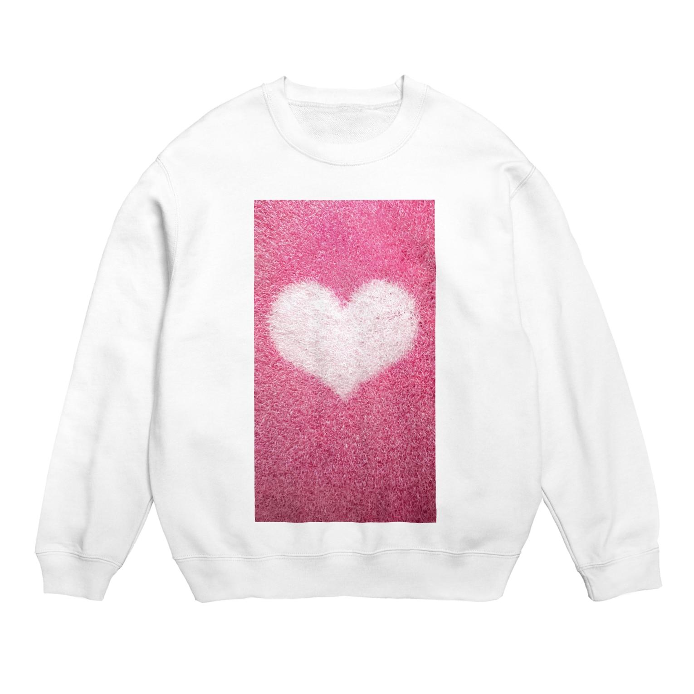 Teatime ティータイムのハート Heart ピンク pink Sweats