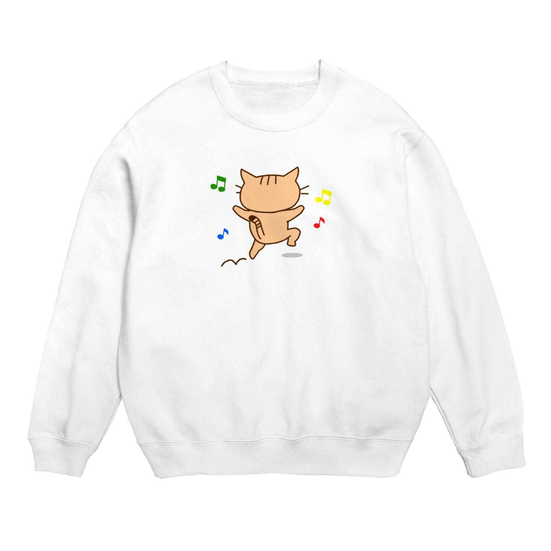 eigoyaのすきっぷする茶トラ猫 Sweats