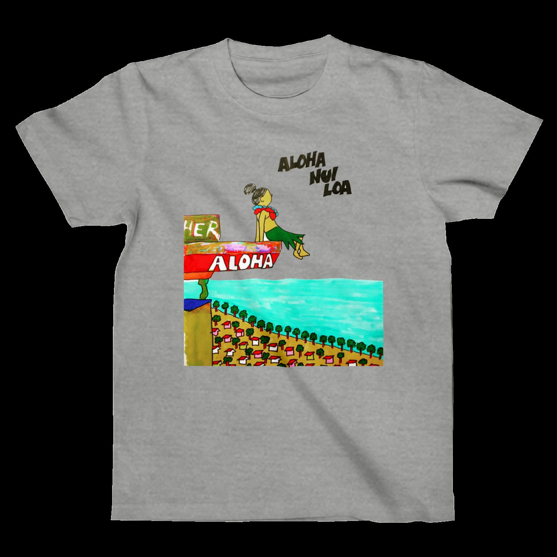 tacos_81のaloha nui loaTシャツ