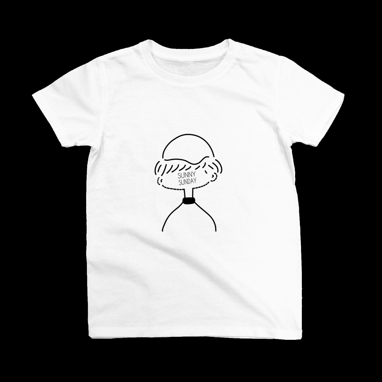 Tシャツ大好きっ子クラブのSUNNY SUNDAYTシャツ