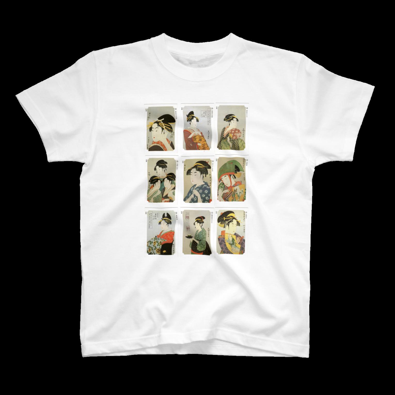 安永峰夫の歌麿DTシャツ