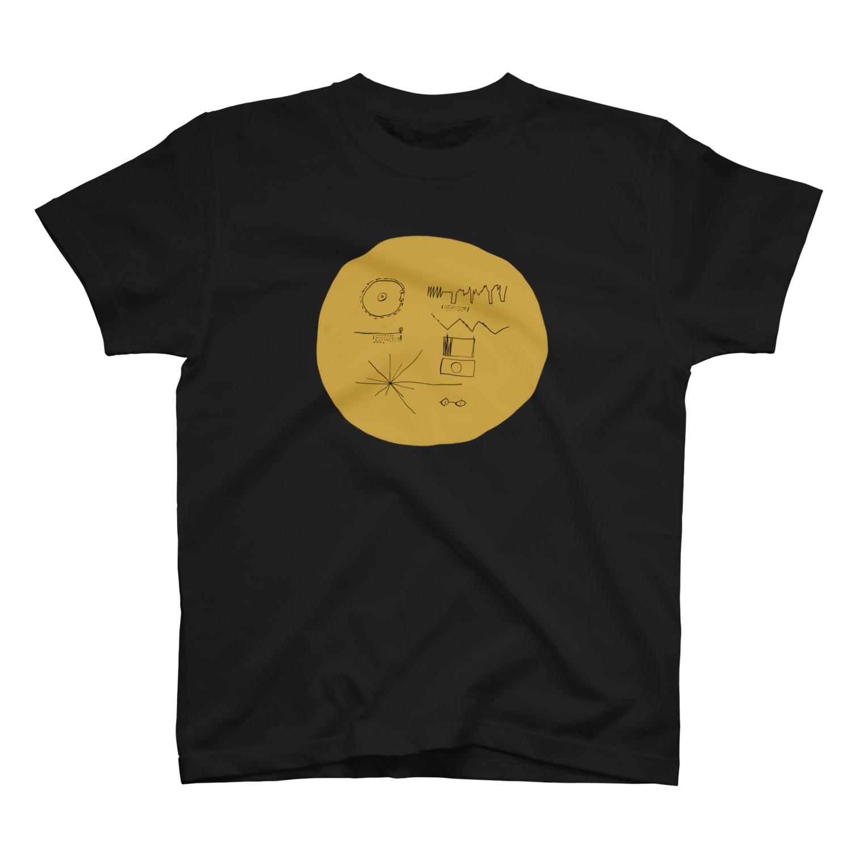 明季 aki_ishibashiのゴールデンレコード Tシャツ