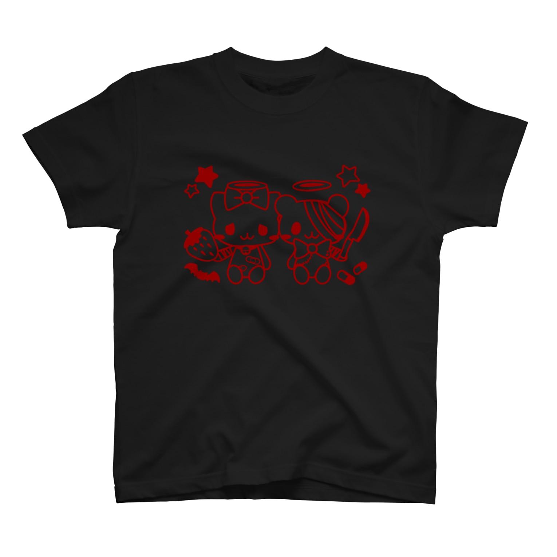 Meltrium*の病みホリ猫熊02 T-shirts
