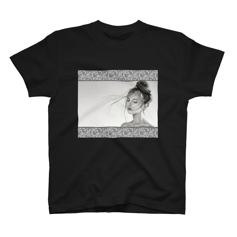 美流乃~Milno~のKissed by The Wind T-shirts