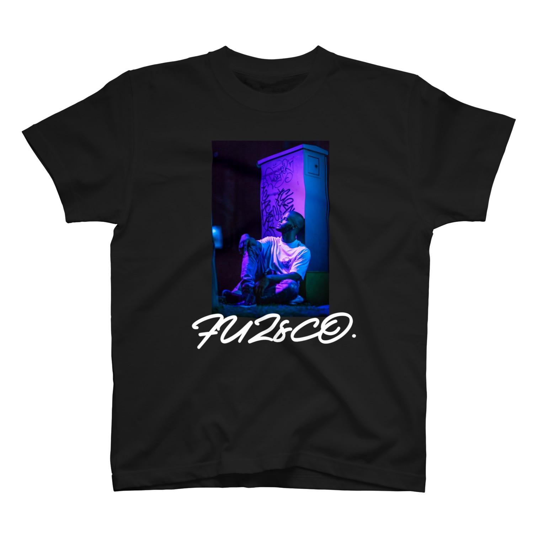 Fuz.&Co.のHIP HOPフォトプリント T-shirts