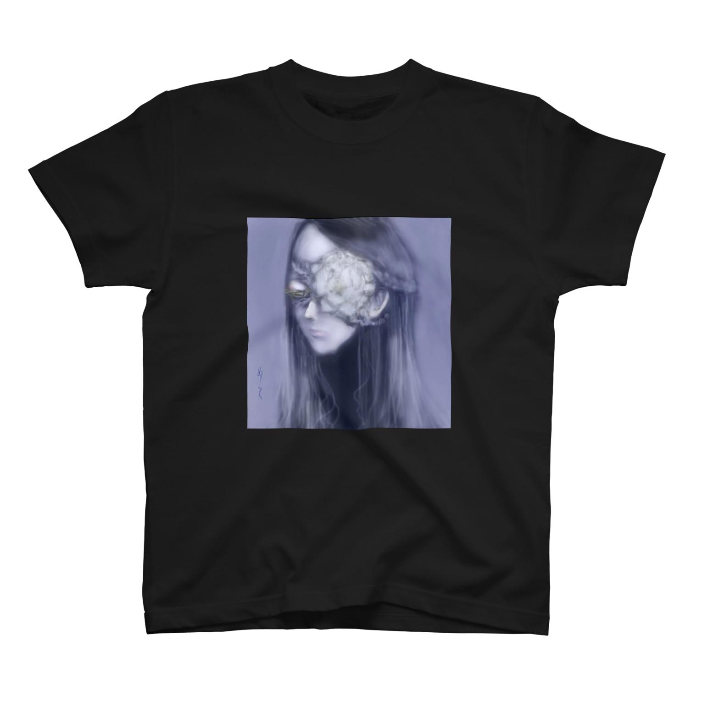 igamiigamiの死んだ魚の目の乙女(牡丹) T-shirts