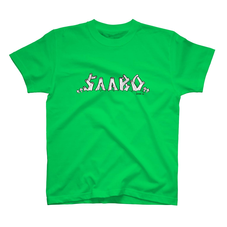 SAABOのSAABO LOG Tシャツ