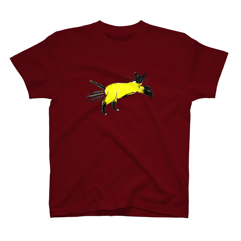 horimotoxxyukiのflying cat T-shirts