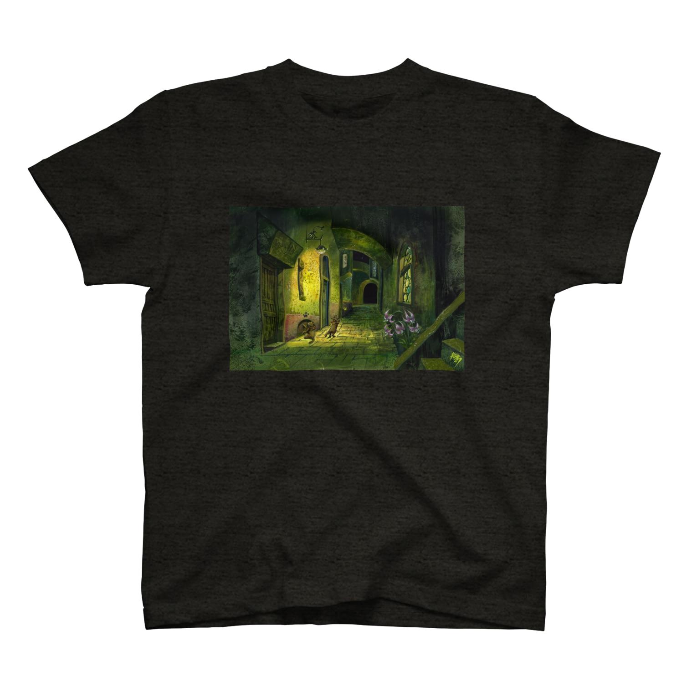 かりかりの秘密のお散歩 T-shirts