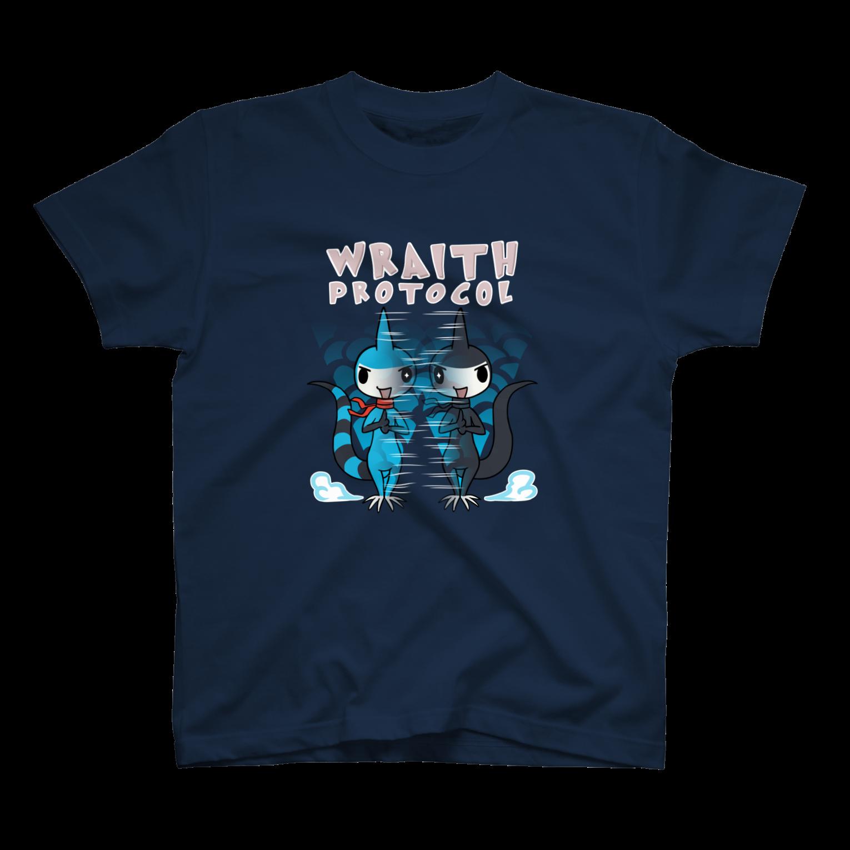 仮想通貨Verge Japan(バージ ジャパン) 公認SHOPのバージリスク(レイス・プロトコル)Tシャツ