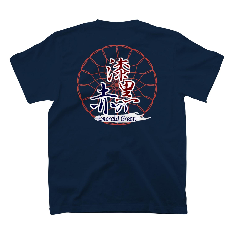 kzmy(くずみー)の漆黒の赤シリーズ T-shirts