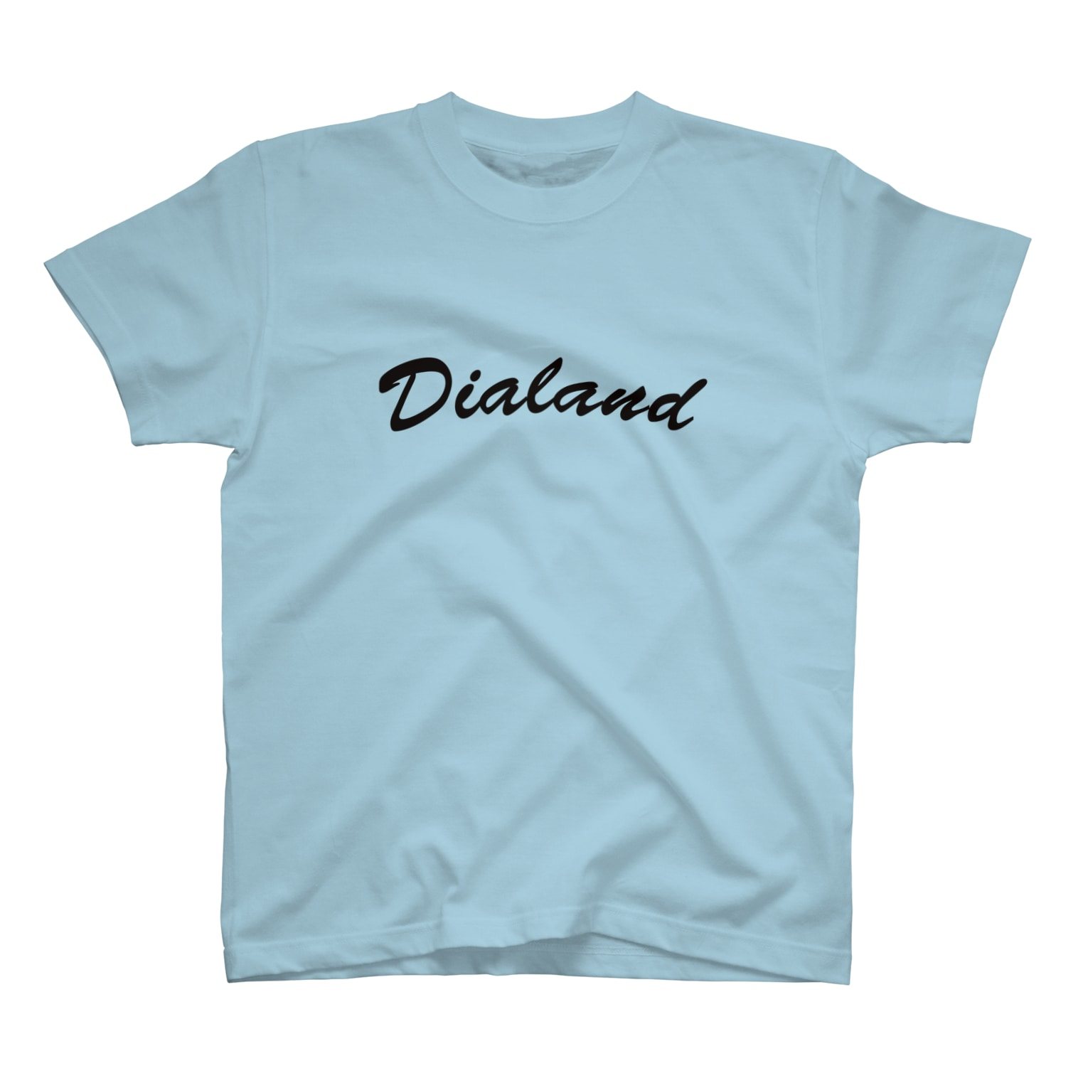 DIALAND LOVERSのTEAM DIALAND BLACK T-shirts