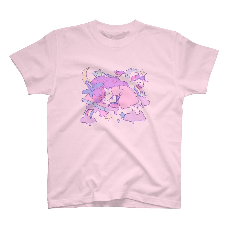 ゆめかわ☆ガールのゆめかわガール T-shirts