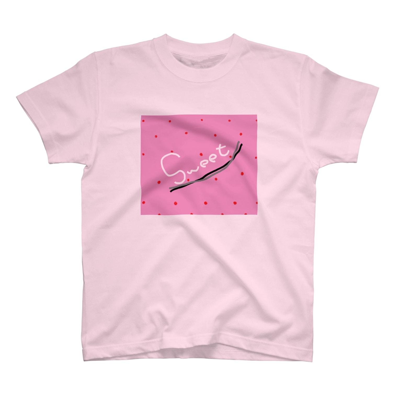 liveto100yearsのあま~いつぶつぶいちごみるく T-shirts