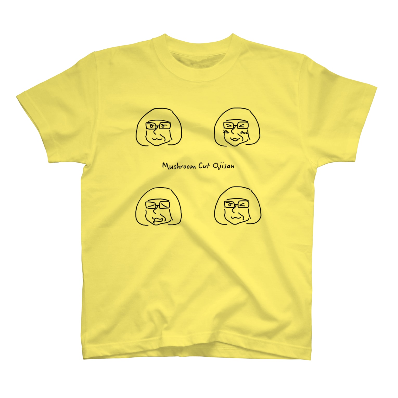 JUSCO東京☆古町MOI店のMushroom Cut Ojisan T-shirts