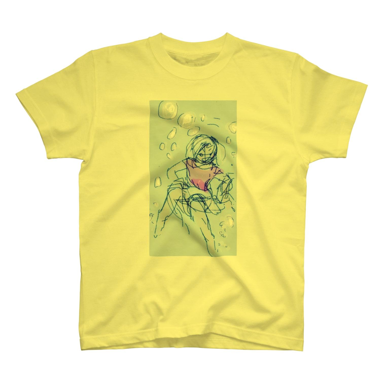 たるこグッズストアーのsinking into sorrow  T-shirts
