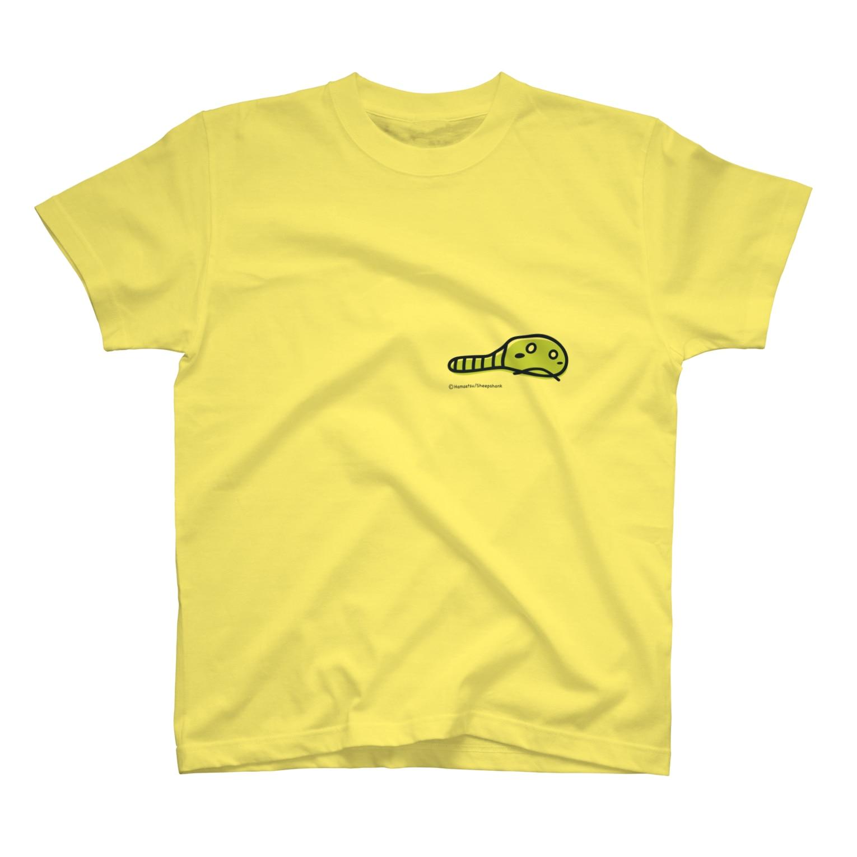 はまえつのいもむし Tシャツ