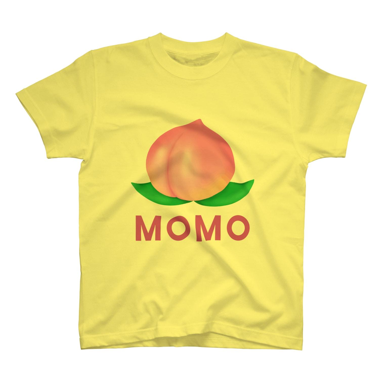 chicodeza by suzuriの桃のTシャツ・パーカー・マグカップ可愛いグッズ T-shirts
