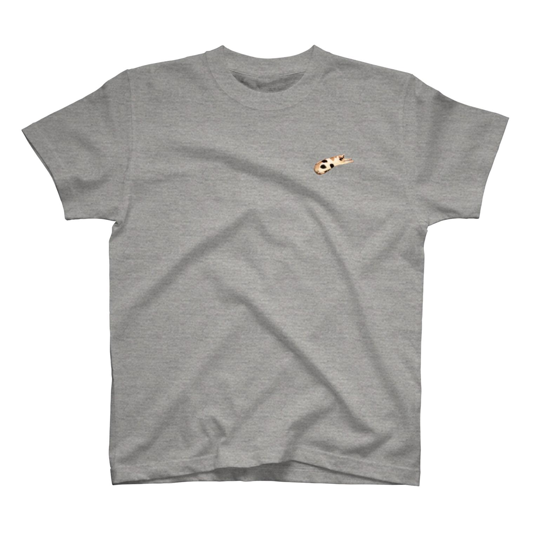 nekonokoのミケねこです。 T-shirts
