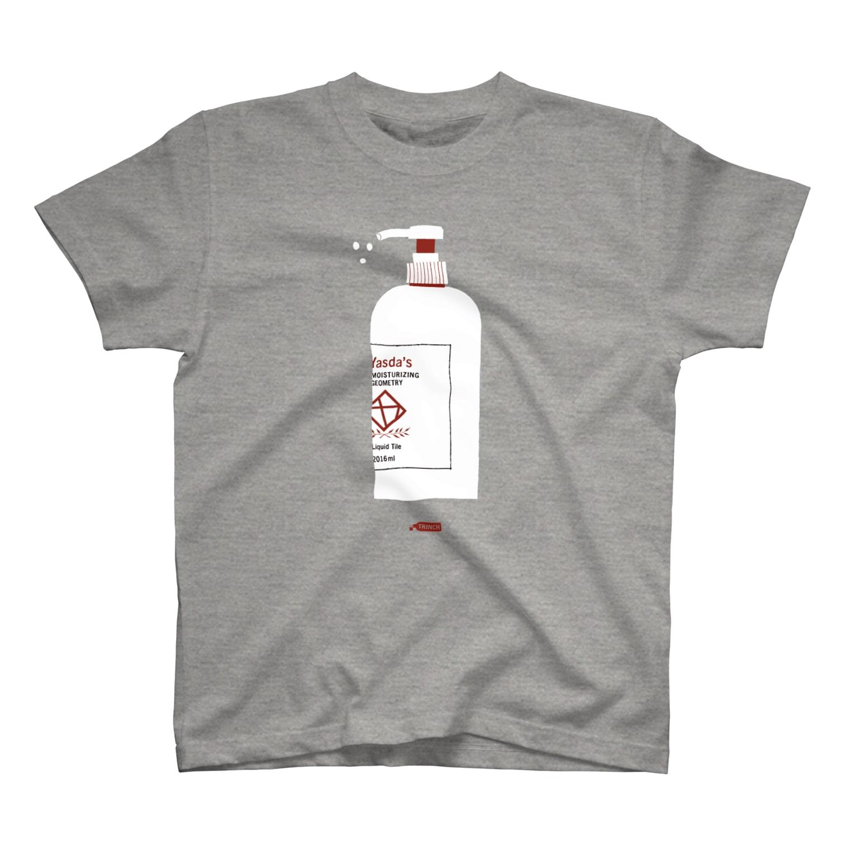 TRINCHの安田タイル工業のシャンプー T-shirts