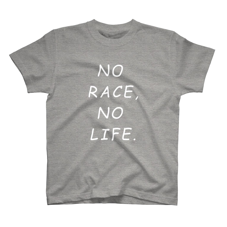 flatoutのNO RACE,NO LIFE. T-shirts