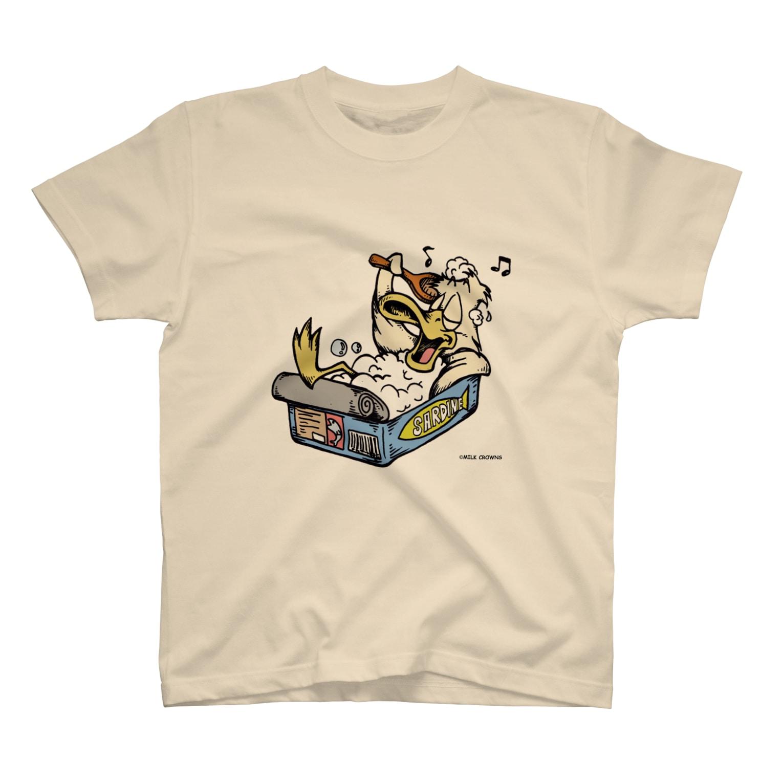 MILK CROWNSのisle Tシャツ