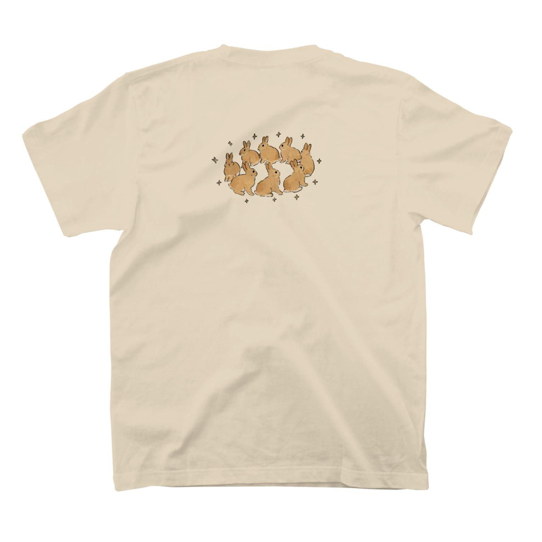 SCHINAKO'Sのラビットクラウン T-shirtsの裏面