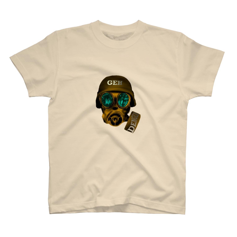 GENさんのお店のガスマスク T-shirts