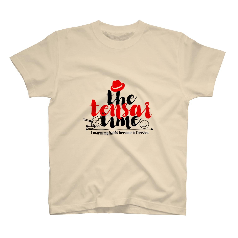 KARUKUSHIOの天才タイム T-shirts
