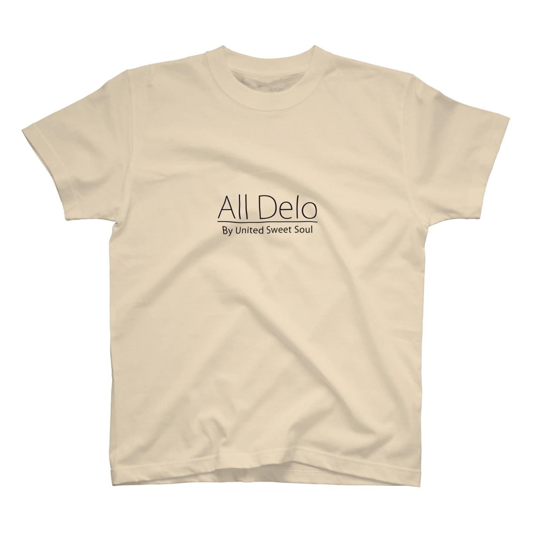 United Sweet Soul MerchのAll Delo T-shirts