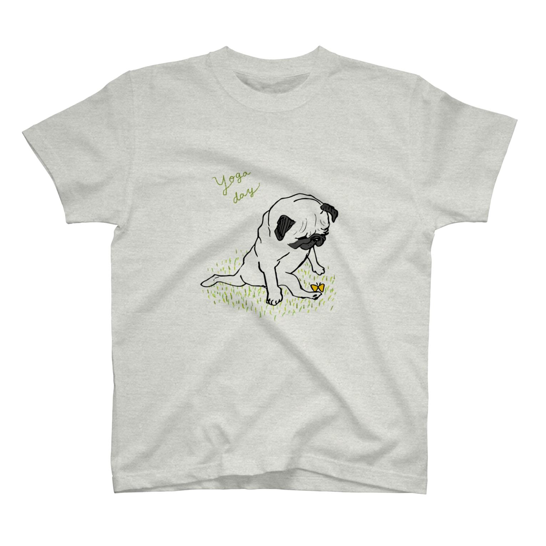 iccaのヨガパグ T-shirts