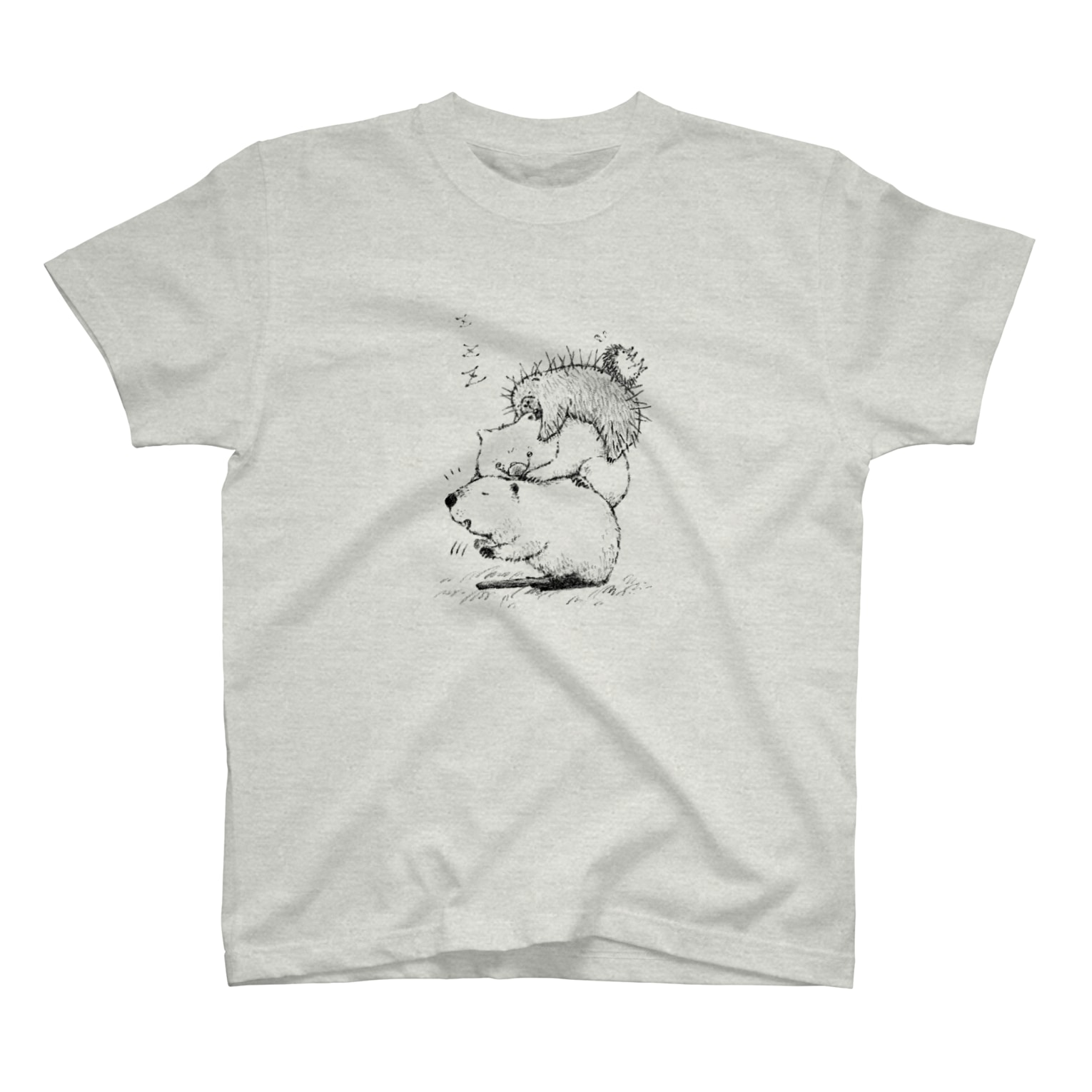 It is Tomfy here.のずんぐり〜ずの居眠り隊 T-shirts