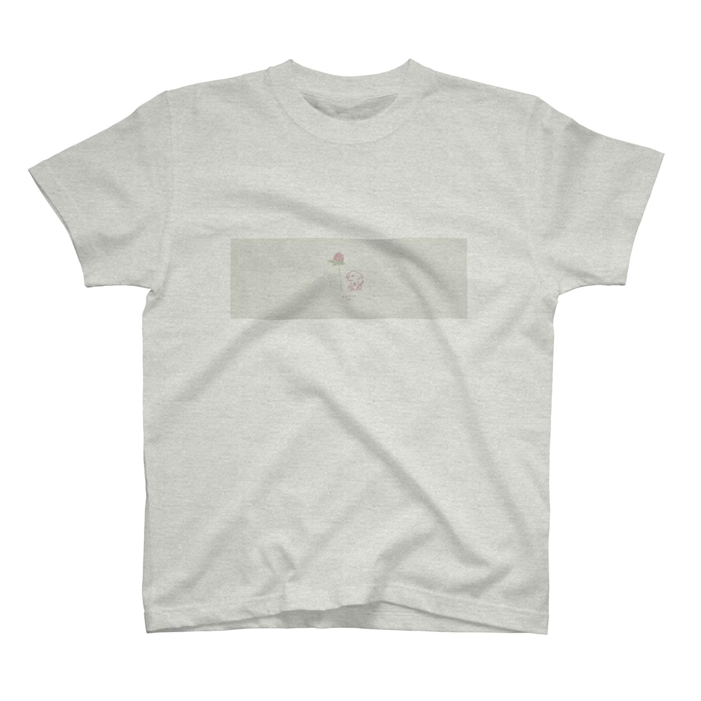 ととめめ/ totomemeのととめめ本日のお花:4月18日 T-shirts