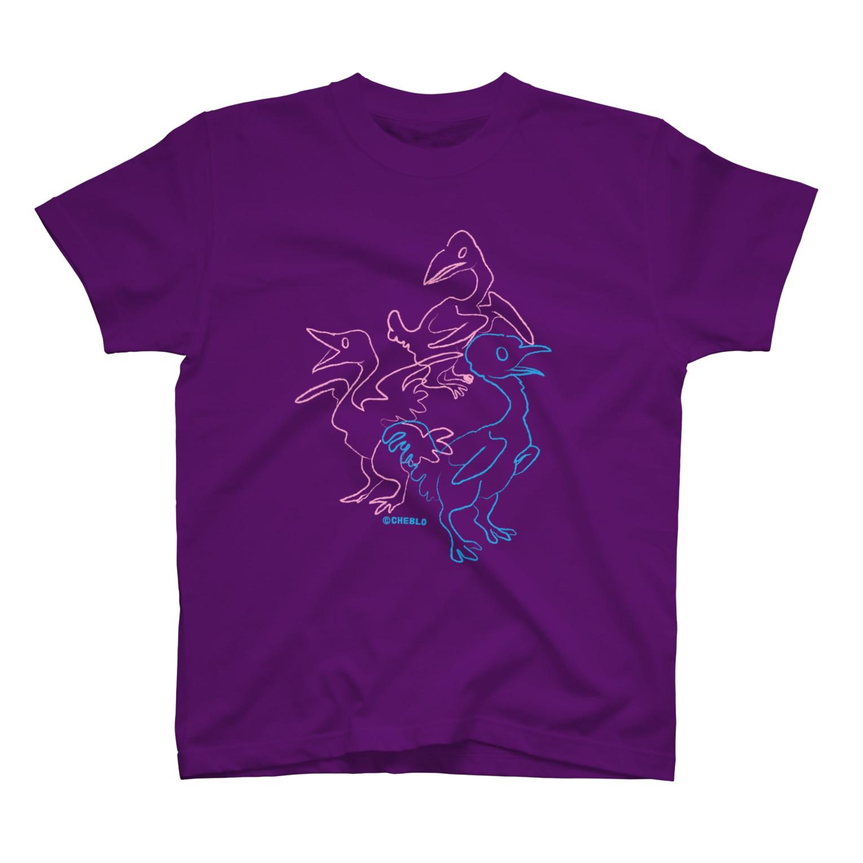CHEBLOの三羽 T-shirts