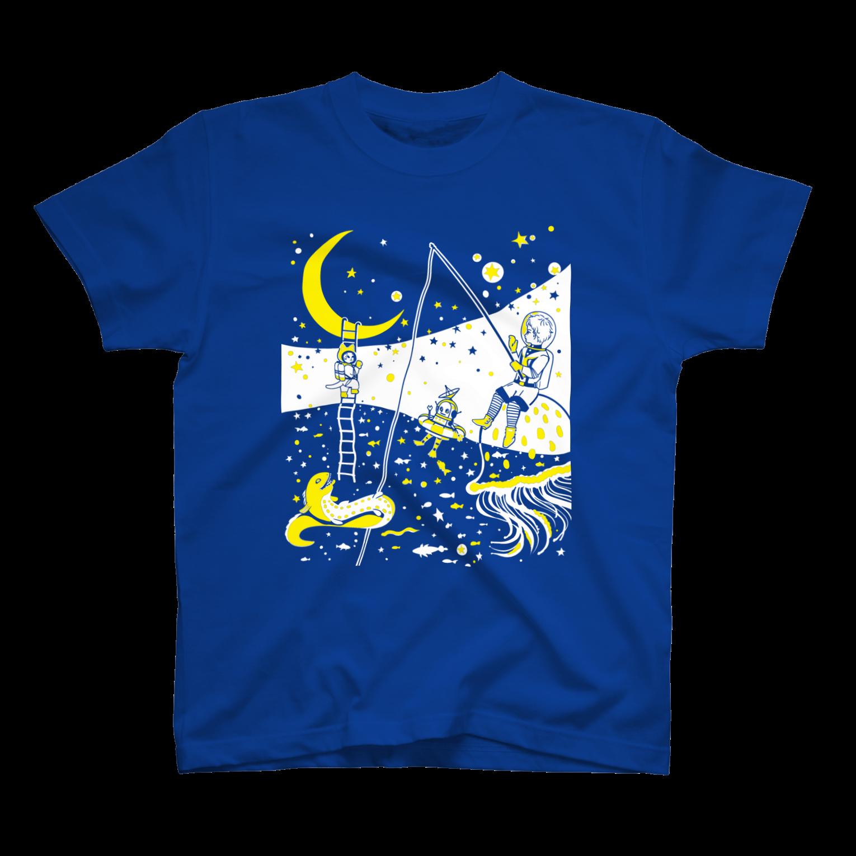 金星灯百貨店の銀河バケーションTシャツ