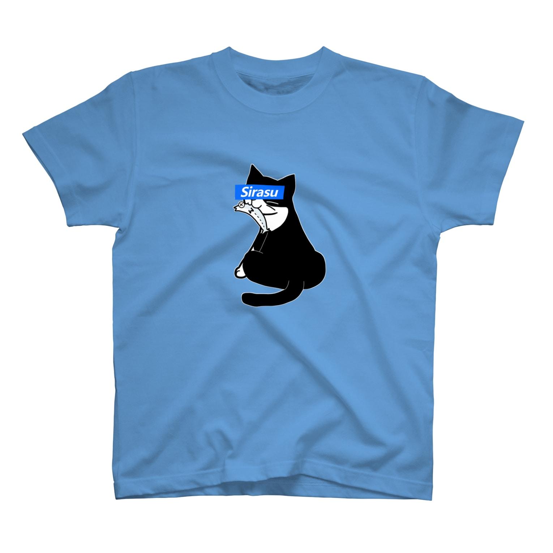 ひなこのSirasu×HACHICOコラボ T-shirts