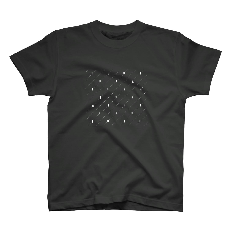 RiLiのモノグラム(反転) T-shirts