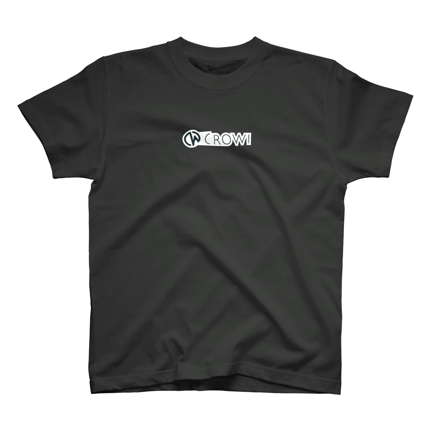 Crowi Fun ShopのCrowi Letter Logo T-shirts
