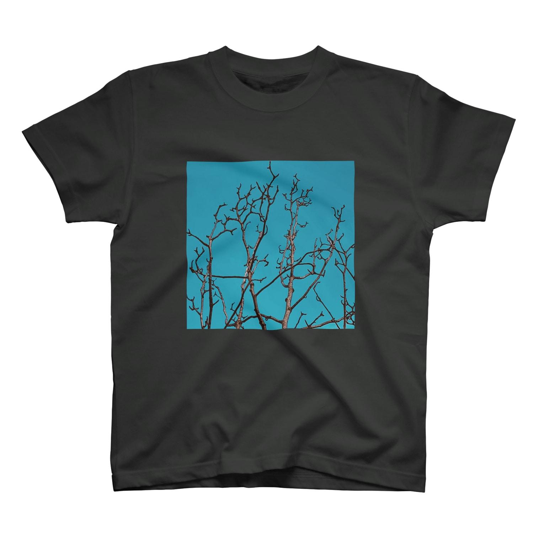 L_surrealのmokuren T-shirts