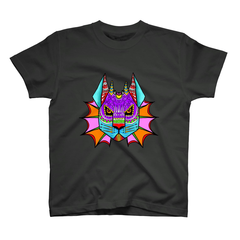A-KatzelのAlebrije-Neko T-shirts
