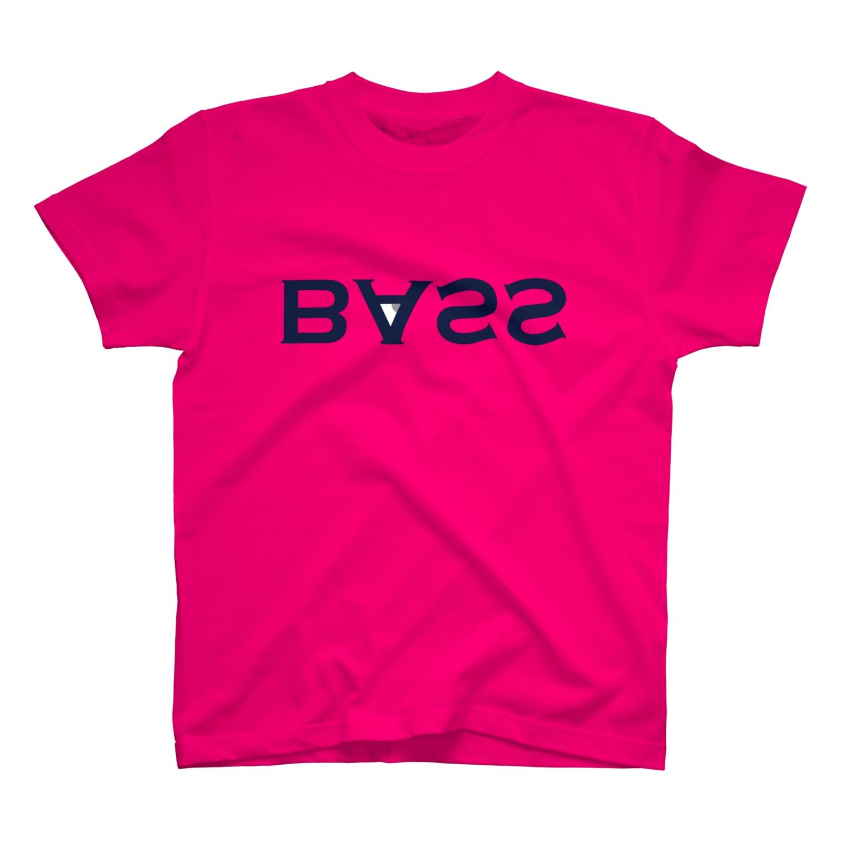 2753GRAPHICSのURAME BASS TEE(ネイビーロゴ) Tシャツ