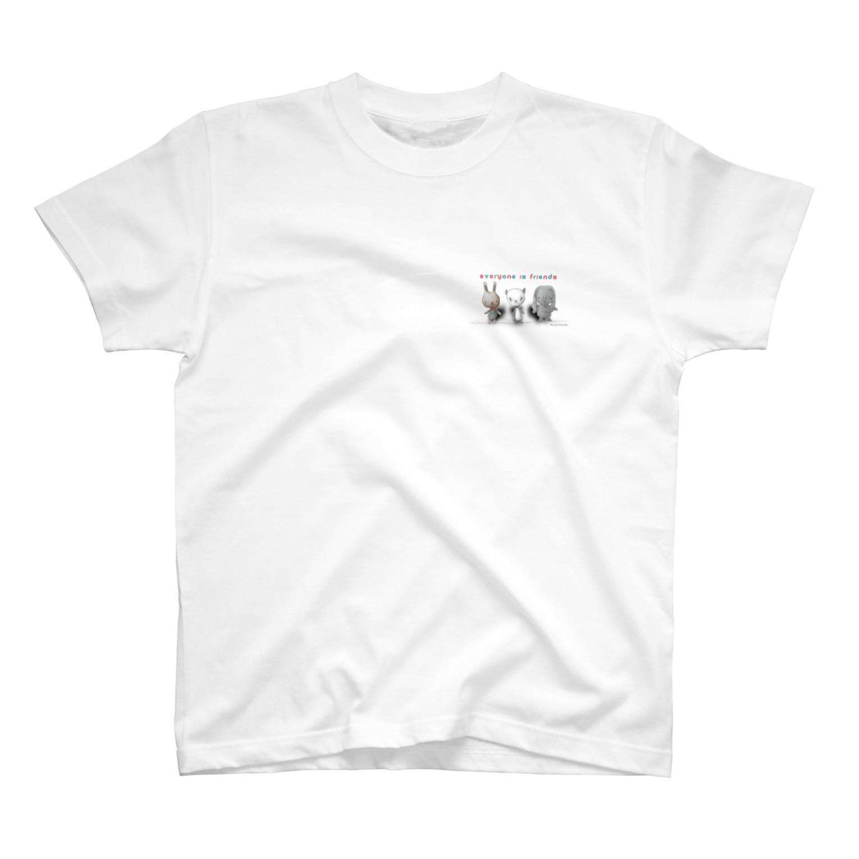 Masashi Kaminkoのウサパンゾウ Tシャツ