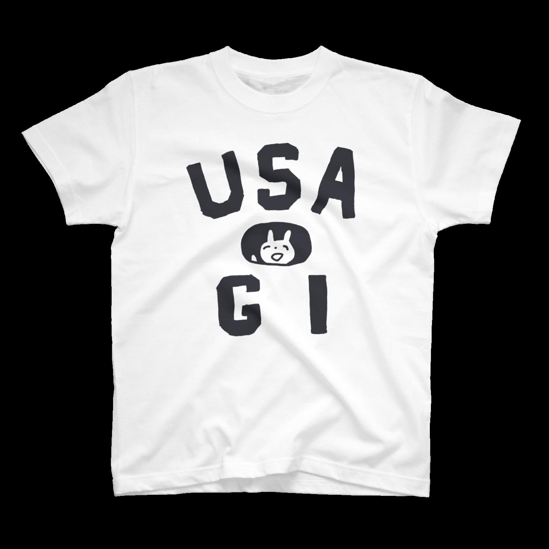 ワタナベスグルのUSATシャツ