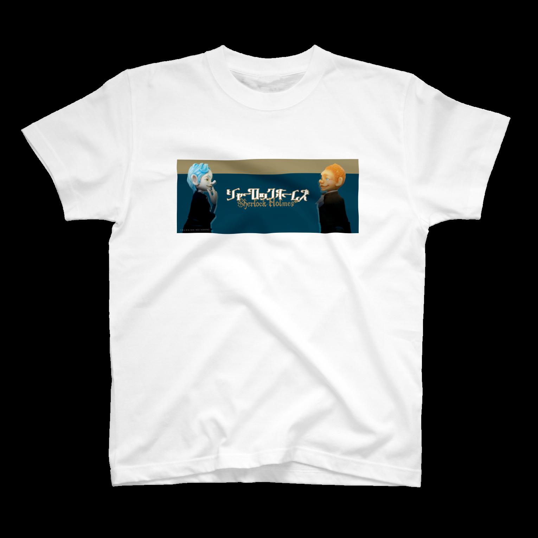 sherlockgakuenのSherlock Holmes & John H. WatsonTシャツ